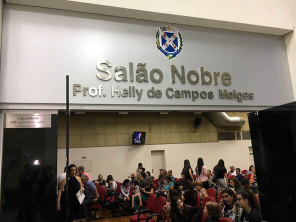 A homenagem ao Dia do Comerciário foi no Salão Nobre
